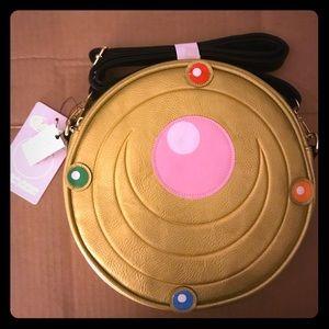 Loungefly Sailor Moon Transformation Brooch Bag